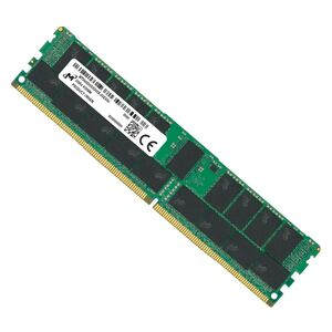Micron 32GB (1x32GB) DDR4 RDIMM 3200MHz CL22 1Rx4 ECC Registered Server Memory