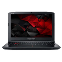 "Acer Predator 17 PH317-51-725J 17.3"" Notebook i7-7700HQ 16GB 256GB+2TB 1060 W10"