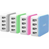 ORICO 4 x USB Port - Desktop Charger - Pink
