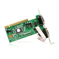 StarTech 2 Port PCI RS232 Serial Adapter Card