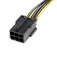 StarTech PCIe 6 pin to 8 pin Power Adapter Cable