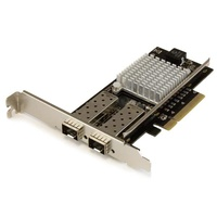 StarTech 2-Port 10G Fiber Network Card with Open SFP+ - PCIe, Intel Chip PEX20000SFPI