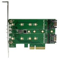 StarTech 3-Port M.2 SSD (NGFF) Adapter Card
