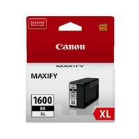 Canon PGI1600XL Black Ink Tank 1200 pages Black