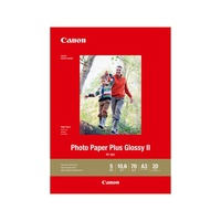 Canon PP301A3 20 SHTS 260 GSM PHOTO PAPER PLUS GLOSSY II