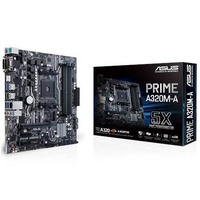 ASUS Prime A320M-A AM4 Micro-ATX Motherboard