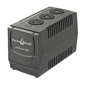 PowerShield VoltGuard 1500VA / 750W AVR - 750 Watt Voltage Stabliser. No internal batteries
