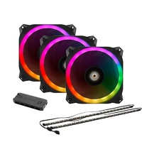 Antec Prizm 120 ARGB 3+2+C 120mm PWM Fan Pack