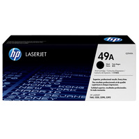 HP #49A Black Toner Q5949A 2,500 pages
