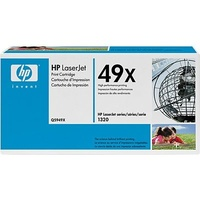 HP 49X Black Toner Cartridge 6K pages (Q5949X)