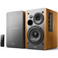 Edifier R1280DB - 2.0 Lifestyle Bookshelf Bluetooth Studio Speakers Brown