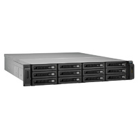 QNAP REXP-1210U-RP 12 Bay Rackmount 6 Gbps RAID Expansion Enclosure for QNAP NAS
