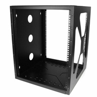 "StarTech 12U 19"" Wall Mount Side Mount Open Rack"