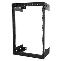 StarTech 15U Wall-Mount Server Rack - 12 in. Depth RK15WALLO