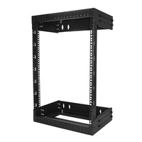 StarTech 15U Wallmount Server Rack with Adjustable Rails RK15WALLOA