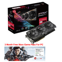 ASUS Radeon RX 580 ROG Strix OC 8GB Video Card ROG-STRIX-RX580-O8G-GAMING