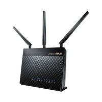 ASUS RT-AC68U Dual-band Wireless-AC1900 Gigabit Router - NBN Ready