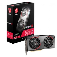MSI AMD Radeon RX 5500 XT Gaming X 8GB GDDR6 PCIe 4.0 Graphics Card 7680x4320 4xDisplays 3xDP HDMI 1737/1685 MHz TORX FAN3.0
