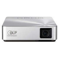 ASUS S1 Mobile LED Projector 200 Lumens, Built-in 6000mAh Battery, Up to 3-hour Projection, HDMI/MHL