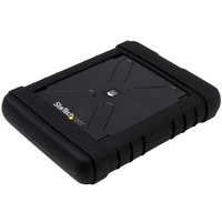 StarTech Rugged Hard Drive Enclosure - USB 3.0 to 2.5in SATA 6Gbps HDD or SSD - UASP S251BRU33