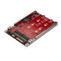 "StarTech Dual-Slot M.2 Drive to SATA Adapter for 2.5"" Drive Bay - RAID S322M225R"