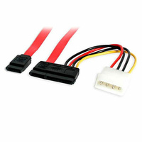 StarTech 0.5m SATA Data and Power Combo Cable