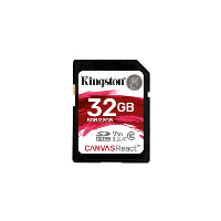 Kingston 32GB SDHC CANVAS REACT
