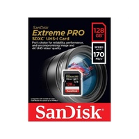 SanDisk SDSDXXY-128G-GN4IN 128GB Extreme Pro SDXC Card
