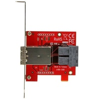 StarTech Dual SFF-8643 to 8644 Mini-SAS Adapter