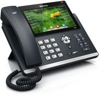 Yealink SIP-T48S 16 Line IP Phone  Dual Gigabit, 7'' Color Touch Screen, Bluetooth