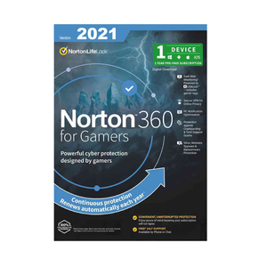 SNN360-GAMER Norton 360 for Gamer Edition 1 Device MAC IOS