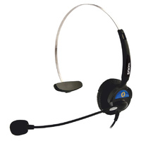 SNOM 1122 Monaural Headset for the SNOM-320, 360 370, 7 Series and 8 Series