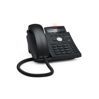 SNOM-D315 4 Line IP Phone. Hi-Res display with backlight, Gigabit, USB, IPv6, PoE
