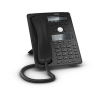 SNOM-D745 12 Line Professional IP Phone, Gbit port + 1x USB port. 18 LED function keys. Hi-res