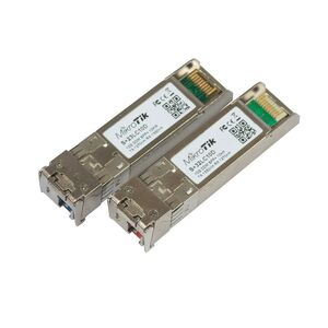 MikroTik S+2332LC10D Pair of bidirectional SFP 10G