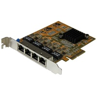 StarTech 4-Port PCIe Gigabit Network Adapter Card ST1000SPEX43