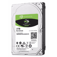 "Seagate ST3000LM024 3TB BarraCuda 2.5"" SATA3 5400RPM Laptop Hard Drive"
