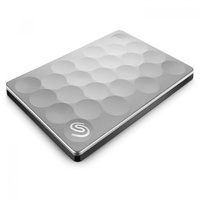 Seagate Backup Plus Ultra Slim 2TB USB3 Portable External Hard Drive STEH2000300 - Platinum