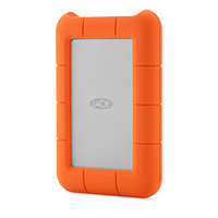 LaCie 4TB Thunderbolt & USB 3.0 Rugged RAID With Integrated Thunderbolt Cable - STFA4000400