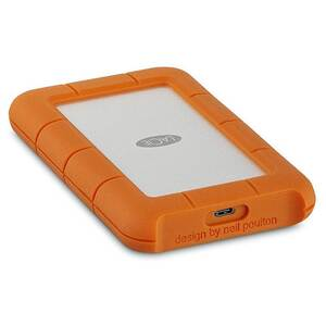 "LACIE RUGGED 2.5"" 4FT DROP RESISTANT 5TB USB-C Hard Drive"