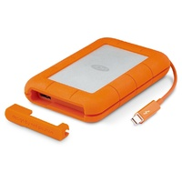 LaCie 1TB SSD Rugged Thunderbolt & USB-C Portable External Hard Drive - STFS1000401