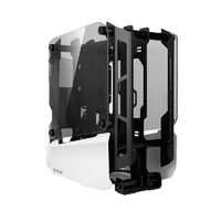 Antec Striker Tempered Glass Open Frame Mini-ITX Case - White