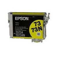 Epson 73/73N Yellow Ink Print Cartridge (T105492)