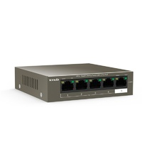 Tenda TEG1105P-4-63W 5-Port Gigabit Unmanaged Ethernet Switch with 4-Port PoE