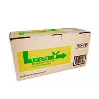 Kyocera TK574 Yellow Toner 12,000 pages Yellow