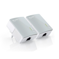 TP-LINK TL-PA411KIT AV500 500Mbps HD Streaming Nano Powerline Adapter Kit (1 Pair)