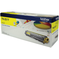 Brother TN-251 Toner Cartridge Yellow