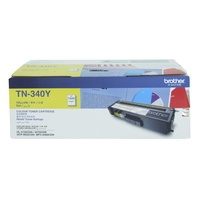 Brother TN-340 Toner Cartridge Yellow