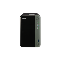 QNAP TS-253D-4G 2-Bay NAS Intel Celeron J4125 quad-core 2.0GHz (up to 2.7GHz) 4GB DDR4 SODIMM RAM