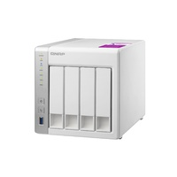 Qnap TS-431P2-4G 4-bay Personal Cloud NAS with DLNA, ARM Cortex A15 1.7GHz Quad Core, 4GB RAM